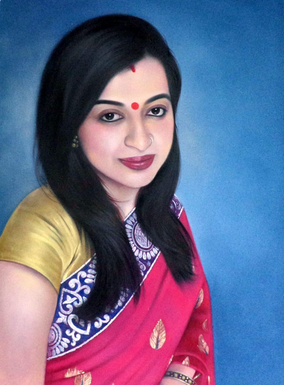 How to Find a Portrait Artist in India shipping Portraits to USA